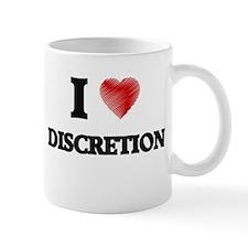 I love Discretion Mugs
