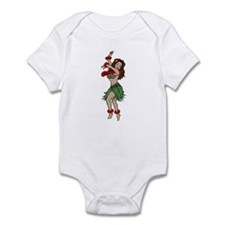 Hula Dancer Infant Bodysuit