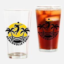 Beachvolleyball Drinking Glass