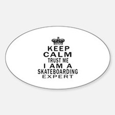 Skateboarding Expert Designs Decal