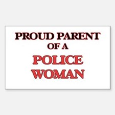 Proud Parent of a Police Woman Decal