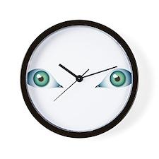 Just eyes! Wall Clock
