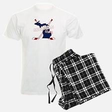 Michigan Hockey Pajamas