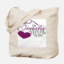 Key to my heart: Coastie Tote Bag