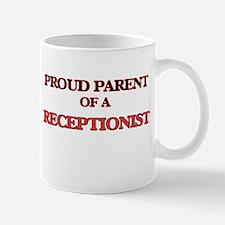 Proud Parent of a Receptionist Mugs