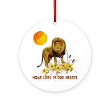 Home For Kwanzaa Ornament (Round)