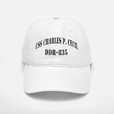 USS CHARLES P. CECIL Baseball Baseball Cap