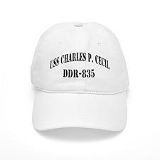 USS CHARLES P. CECIL Baseball Cap