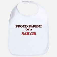 Proud Parent of a Sailor Bib