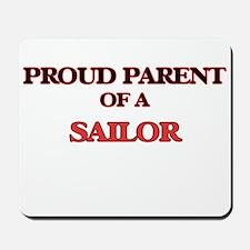 Proud Parent of a Sailor Mousepad