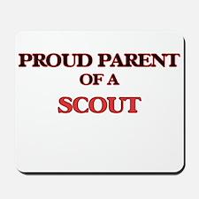 Proud Parent of a Scout Mousepad