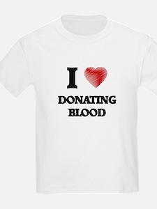 I love Donating Blood T-Shirt