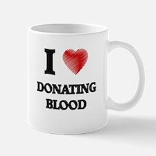 I love Donating Blood Mugs