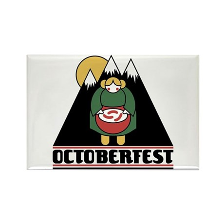 Octoberfest Rectangle Magnet (10 pack)