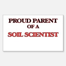 Proud Parent of a Soil Scientist Decal