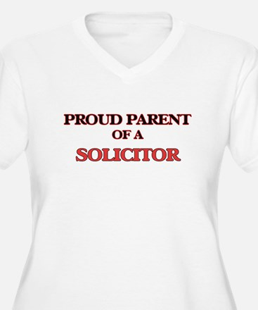 Proud Parent of a Solicitor Plus Size T-Shirt