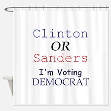Democrats Shower Curtain