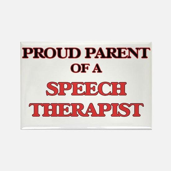 Proud Parent of a Speech Therapist Magnets