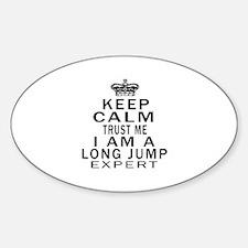 Long Jump Expert Designs Decal