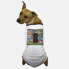 Monet's Lilies & Affenpinsche Dog T-Shirt
