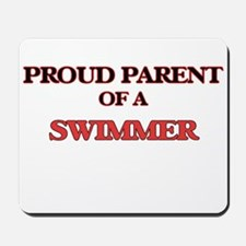 Proud Parent of a Swimmer Mousepad