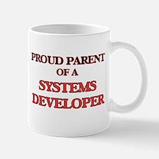Proud Parent of a Systems Developer Mugs
