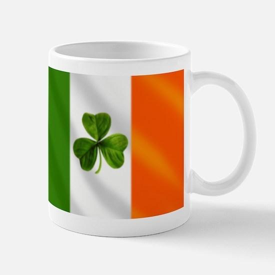 Irish Shamrock Flag Mugs