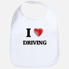 I love Driving Bib