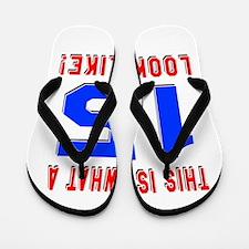Look Like 15 Birthday Flip Flops