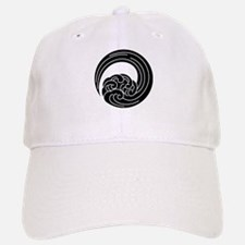 Swirled waves Baseball Baseball Baseball Cap