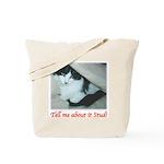 Valentine Kitty Tote Bag