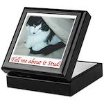 Valentine Kitty Keepsake Box