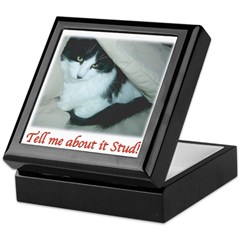 Valentine Kitty Keepsake Box
