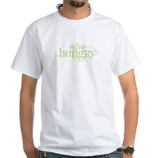 We're Hungry Green Shirt