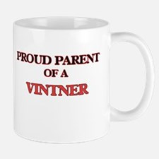 Proud Parent of a Vintner Mugs