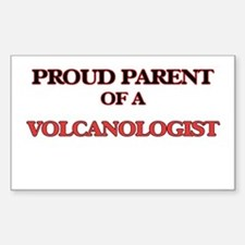 Proud Parent of a Volcanologist Decal