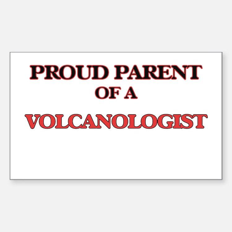 Proud Parent of a Volcanologist Decal