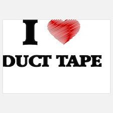 Cute Duct tape Wall Art