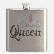 Unique Queen Flask