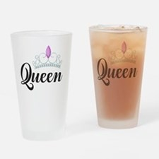 Cute Couple Drinking Glass