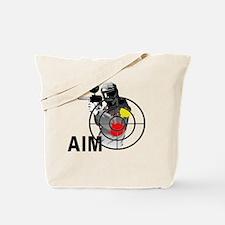 Funny Paintball Tote Bag