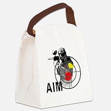 Cute Paintball Canvas Lunch Bag