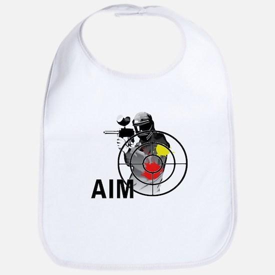 Paintball Shooter Gun Sight Aim Bib