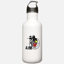 Paintball Shooter Gun Water Bottle