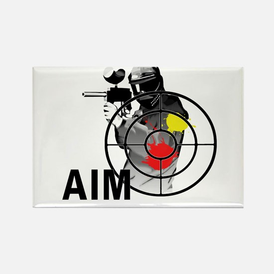 Paintball Shooter Gun Sight Aim Magnets