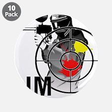 """Paintball Shooter Gun Sight 3.5"""" Button (10 pack)"""