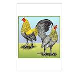Lemon Blue OE Pair Postcards (Package of 8)