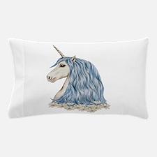 White Unicorn Drawing Pillow Case