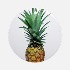 Pineapple Express Round Ornament