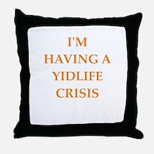 crisis Throw Pillow